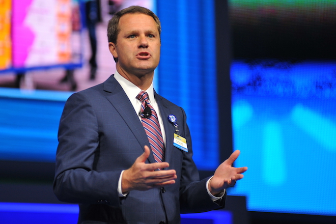 Doug McMillon, President and CEO, Wal-Mart Stores, Inc., 2015 Walmart Shareholders Meeting