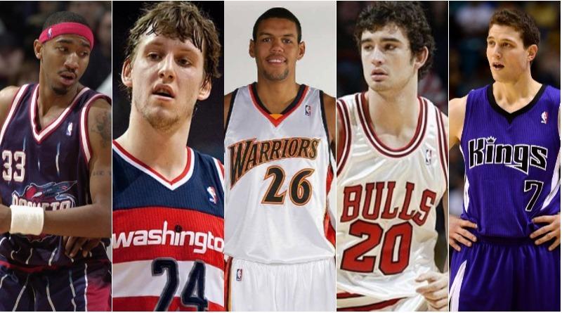 撐不住奇蹟好運 NBA球隊看走眼的選秀球星(下)