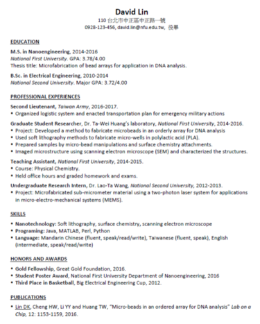 sample-resume-2